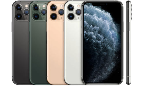 iPhone 11 Pro farger