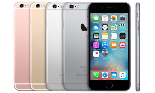 iPhone 6s farger